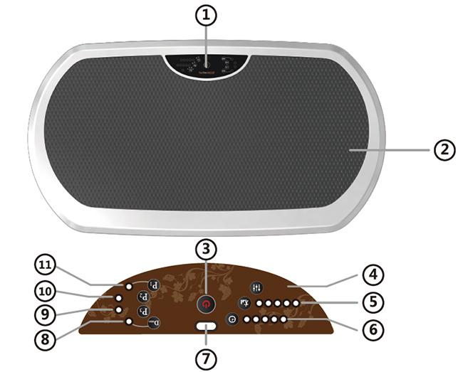Vibration Platform Machine, Confidence Fitness Slim Full Body Vibration Platform, Vibration Plate Manufacturer, Wholesale Vibration Machine
