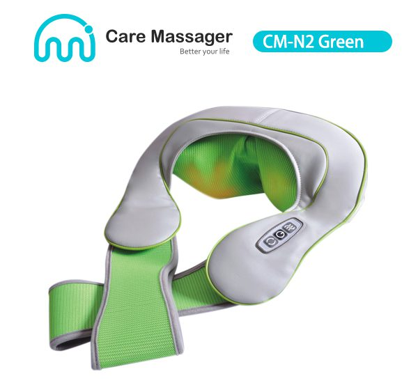 CM-N2 (Green) Neck Massager, Shiatsu Neck and Shoulder Massager Manufacturer