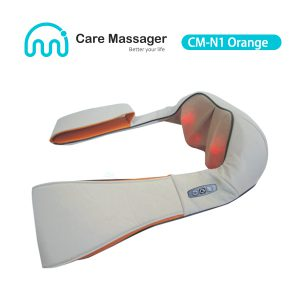 CM-N1 (Orange) Neck Massager, Buy Shiatsu Neck and Shoulder Massager with Heat from us