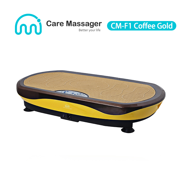 High-end Vibration Platform Machine, Vibration Plate Exercise Machine (CM-F1 Coffee Golden)