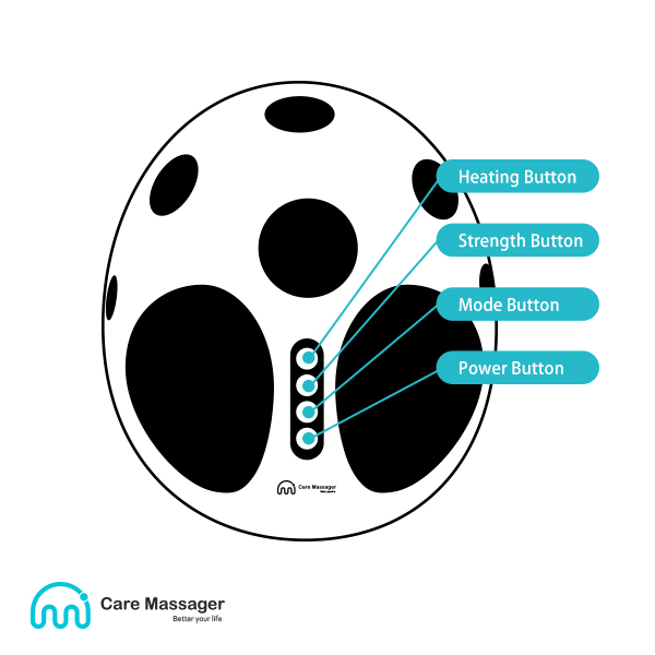 Foot Massager (CM-Z19 Beetle) Structure