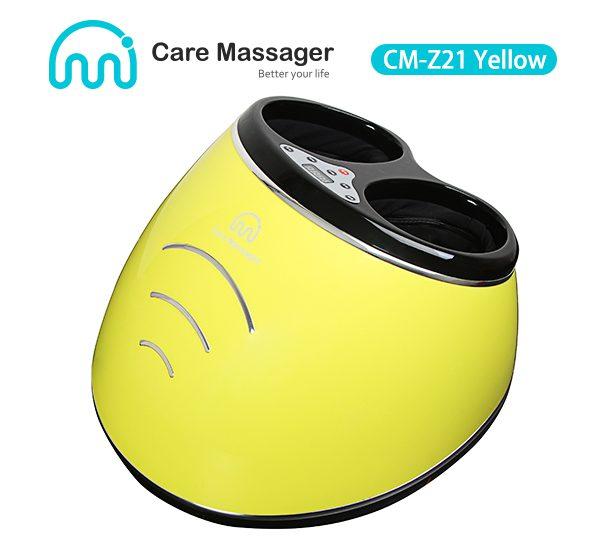 Air Compression Foot Massager Manufacturer, Foot Massager (CM-Z21 Yellow) Wholesale