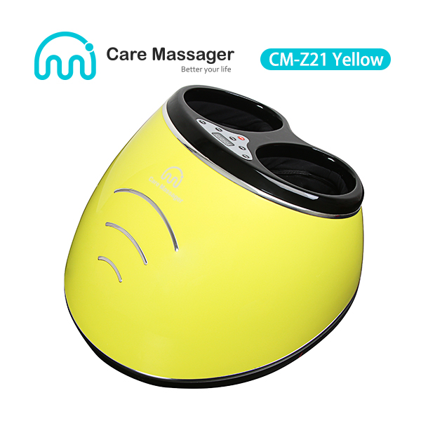 Air Compression Foot Massager Manufacturer, Foot Massager (CM-Z21 Yellow) Wholesale