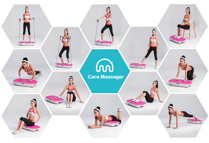 Take 20 minutes of exercise every day during the vacation use vibration platform machine