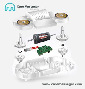 www.caremassager.com How does the shawl massager (shoulder massager) work?